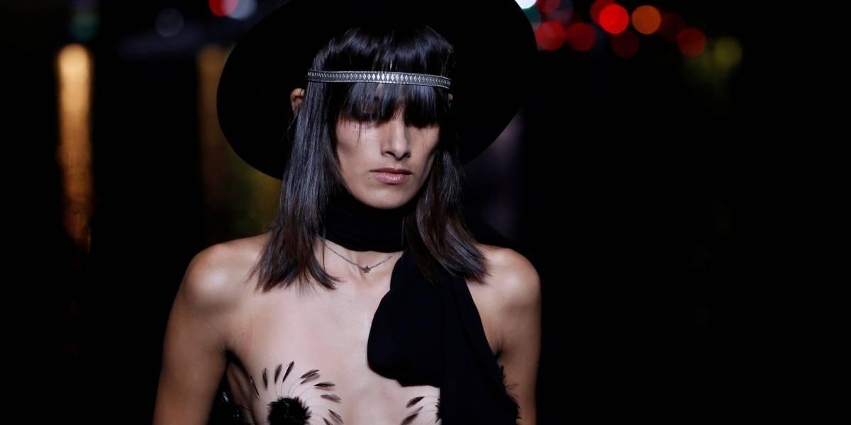 Paris Fashion Week: Saint Laurent é criticada por apresentar coleção supersexualizada