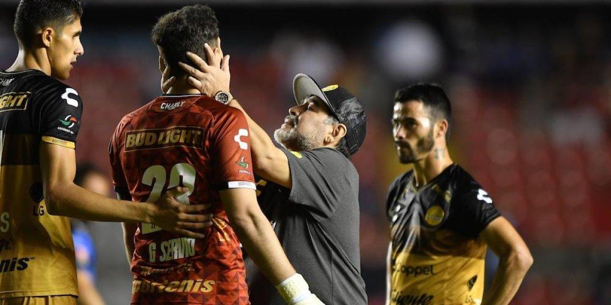 Querétaro echa de la Copa MX a Maradona y sus Dorados