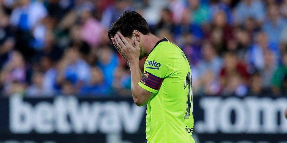 Barcelona sucumbe ante el Leganés, colista de la Liga española