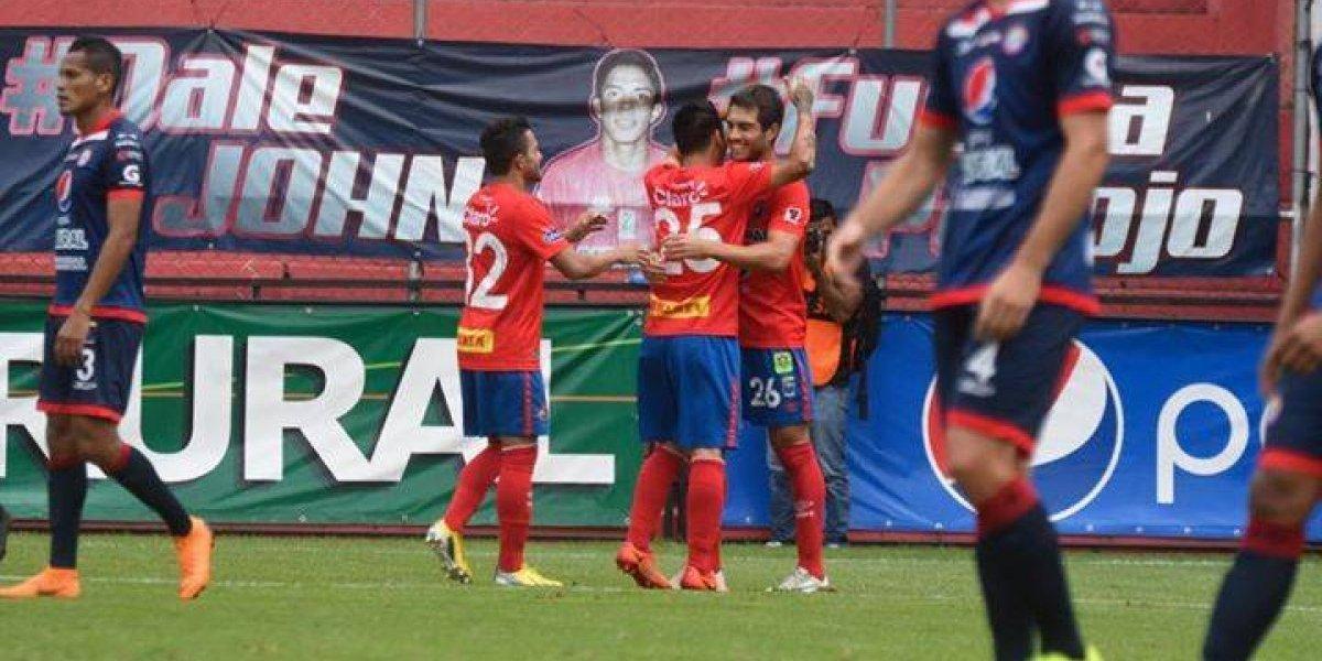 Los rojos recuperan la sonrisa con una victoria en casa contra Xelajú MC