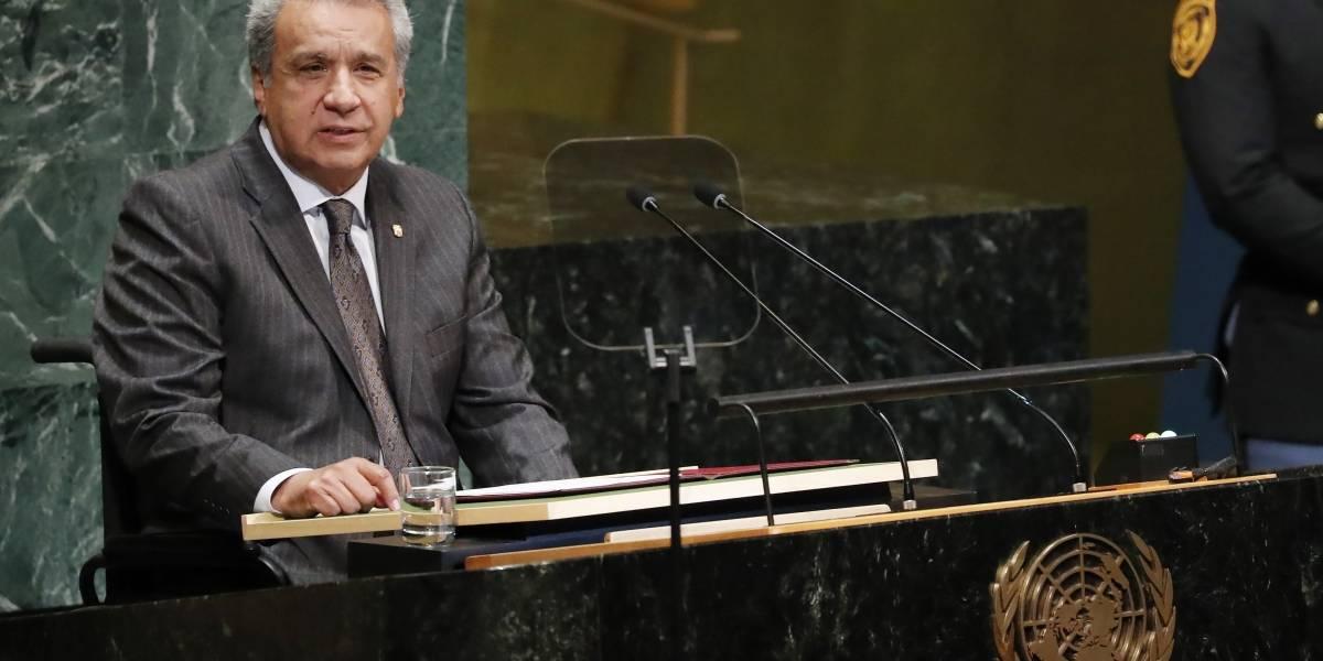 Presidente Lenín Moreno exhortó a Rafael Correa a regresar a Ecuador