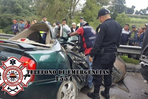 accidente de tránsito en Tecpán, Chimaltenango