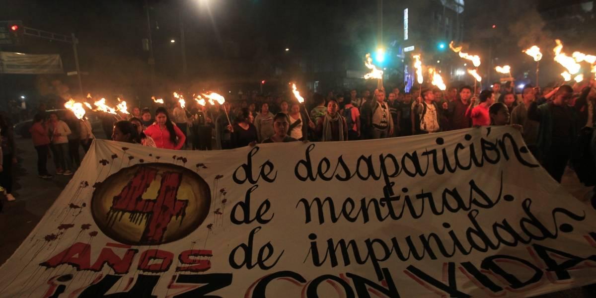 Alternativas viales a marcha por los 43 normalistas