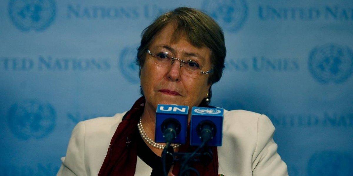 """Bachelet toma distancia de Piñera y otros países que condenan a Venezuela: """"Son decisiones que ellos toman"""""""