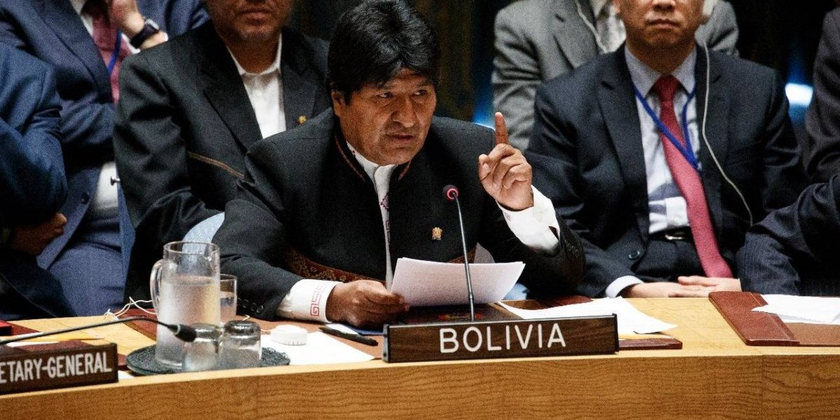 """Evo Morales se fue en picada contra Trump y EEUU en ONU: """"No le interesa la democracia"""""""