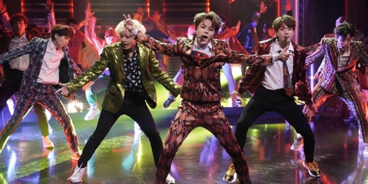 Grupo BTS domina programa americano 'The Tonight Show'