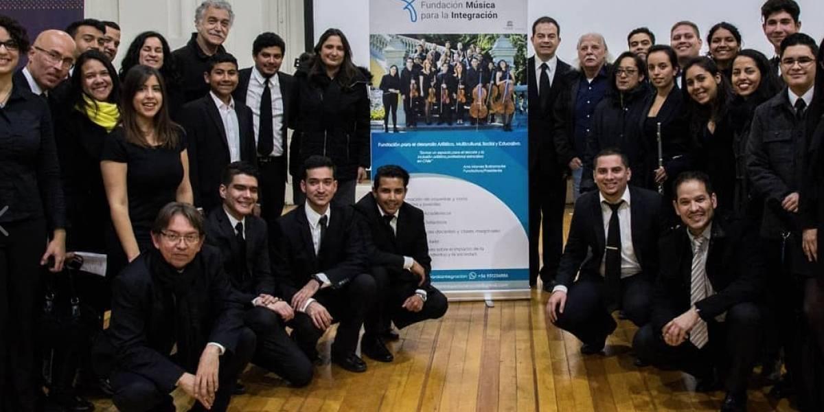 Música para la integración: profesionales migrantes abren espacios armónicos en Andacollo