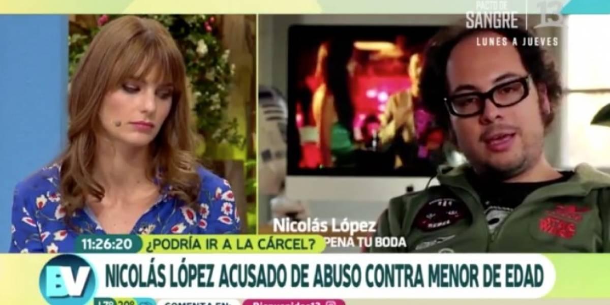 """Josefina Montané sobre Nicolás López: """"Me preguntó si podía tocarme la teta"""""""