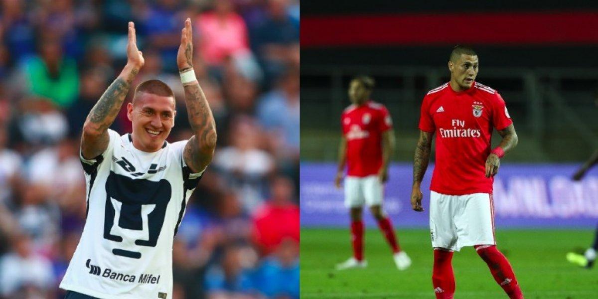 'Nico' Castillo: De la gloria en Pumas a la banca del Benfica