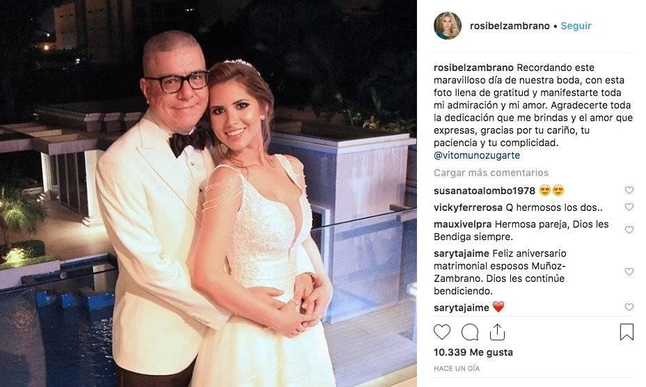 El emotivo mensaje de Rosibel Zambrano para Vito Muñoz
