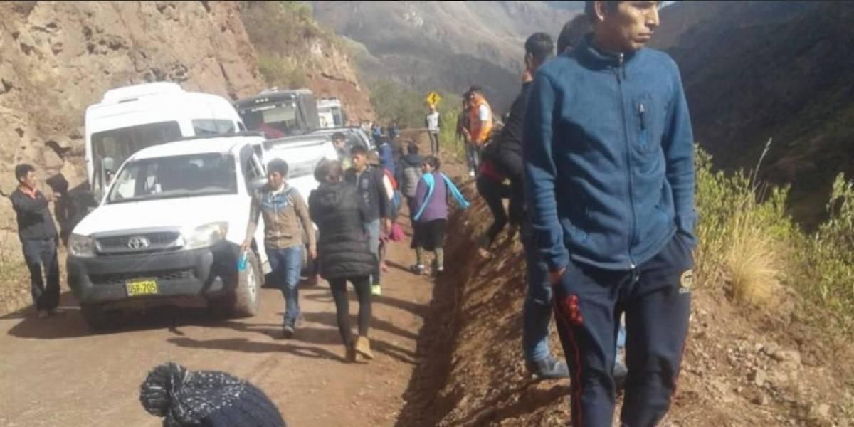 23 fallecidos en accidente de bus en el Cusco, Perú
