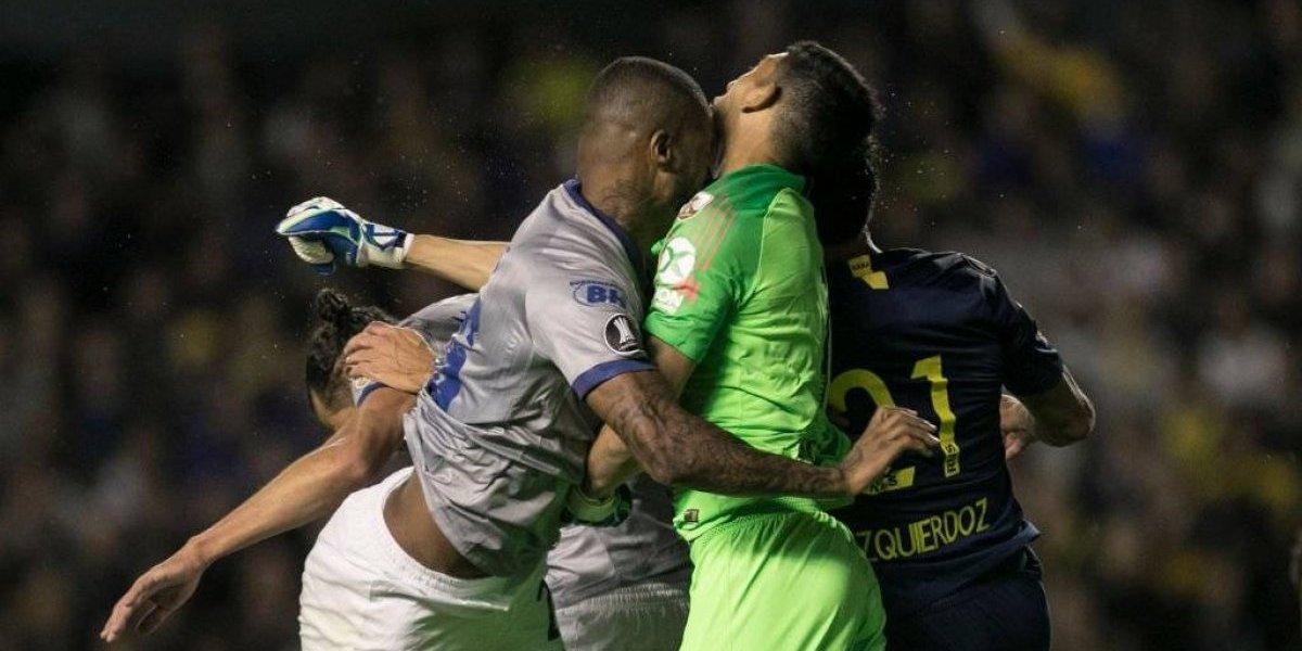 Conmebol quita el piso al VAR y habilita a defensa de Cruzeiro que vio la roja ante Boca