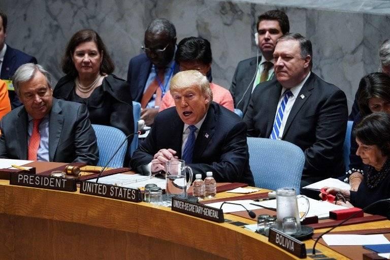 Donald Trump preside el Consejo de Seguridad de la ONU
