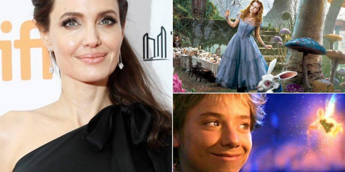 Primeiras fotos de Angelina Jolie em 'Come Away', filme que antecede história de 'Alice no País das Maravilhas' e 'Peter Pan'
