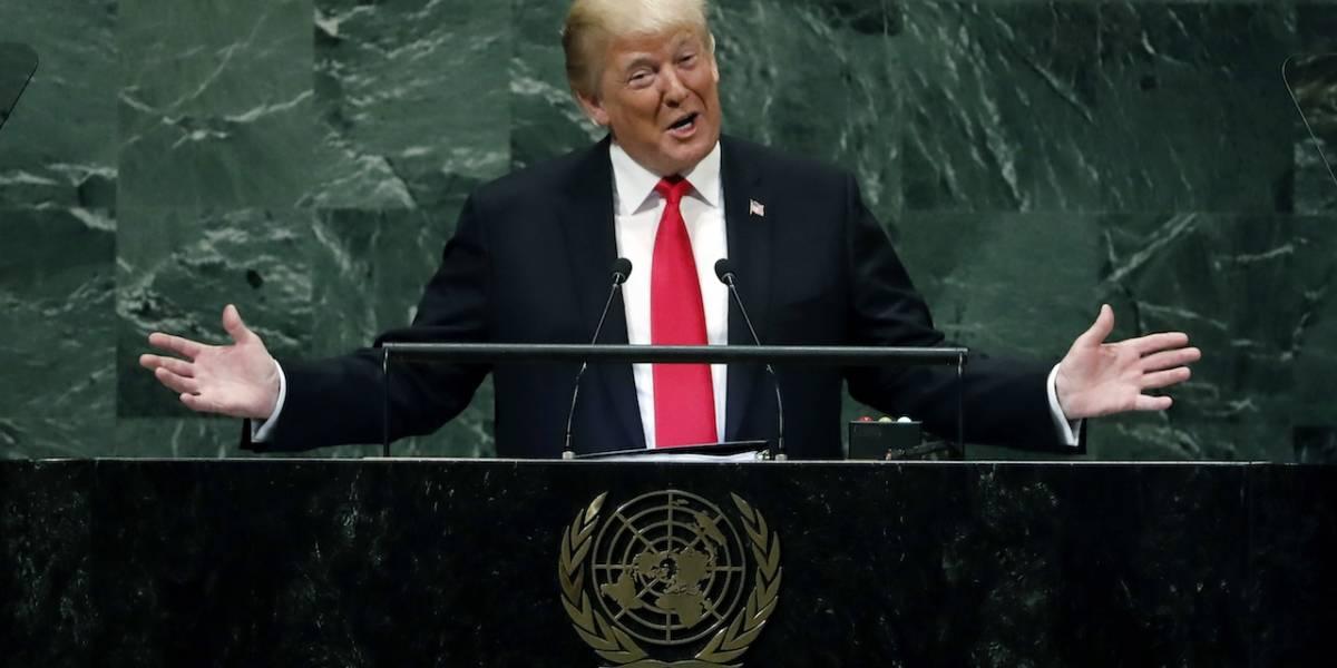 """Trump asegura que risas a su discurso en la ONU """"estaban planeadas"""""""