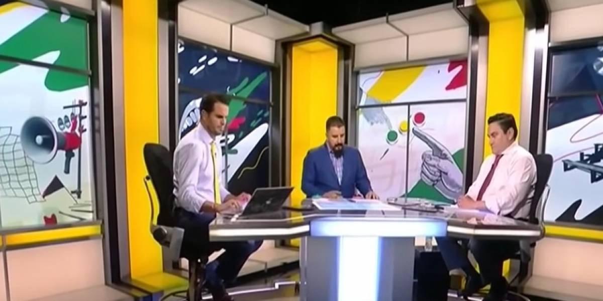 VIDEO: Comentaristas de ESPN discuten con barrista de Tigres