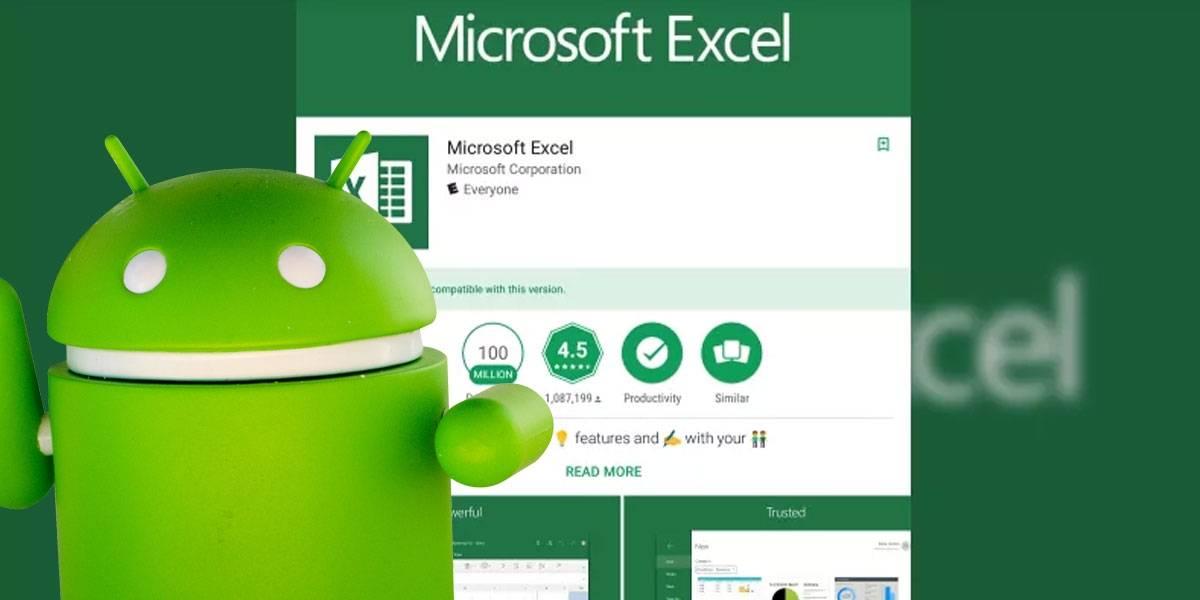 Excel para Android ya permite convertir fotos en hojas de cálculo editables