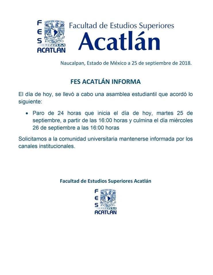 Foto: FES Acatlán