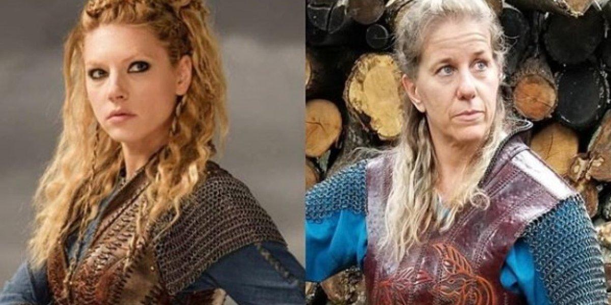 Vikings: Resolveram o mistério da foto polêmica de 'Lagertha' publicada por Katheryn Winnick