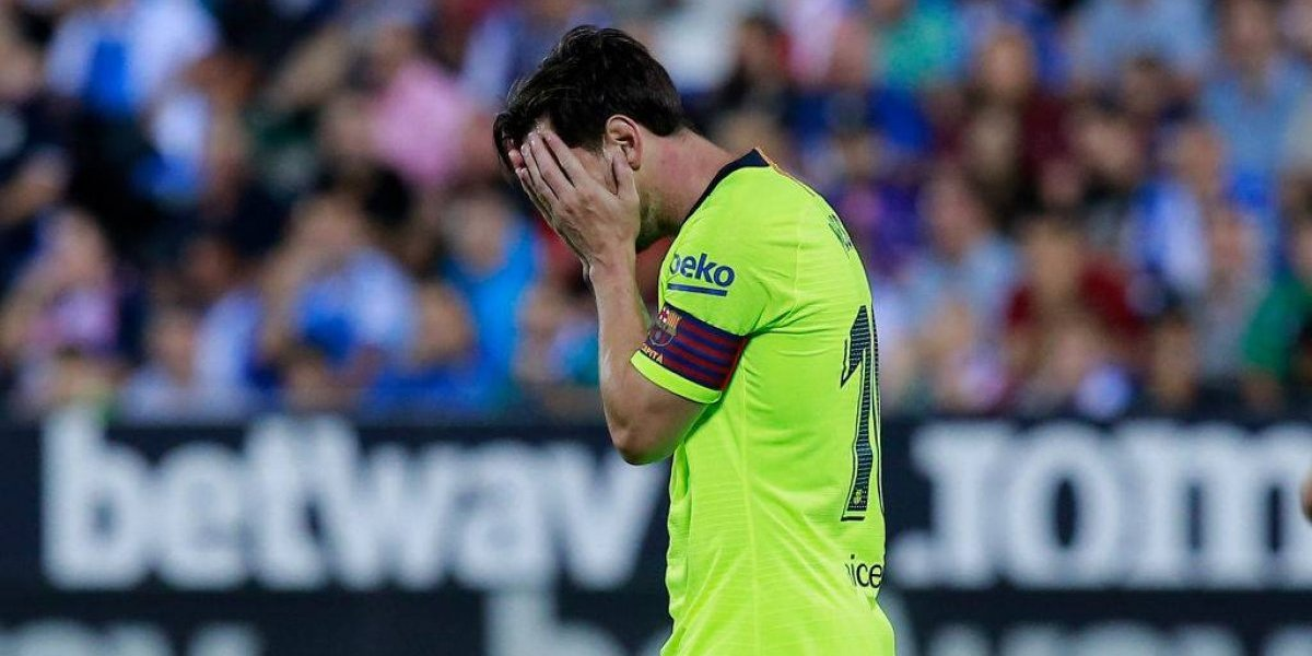 Vidal no jugó por primera vez en un Barça desaparecido que perdió ante el colista Leganés