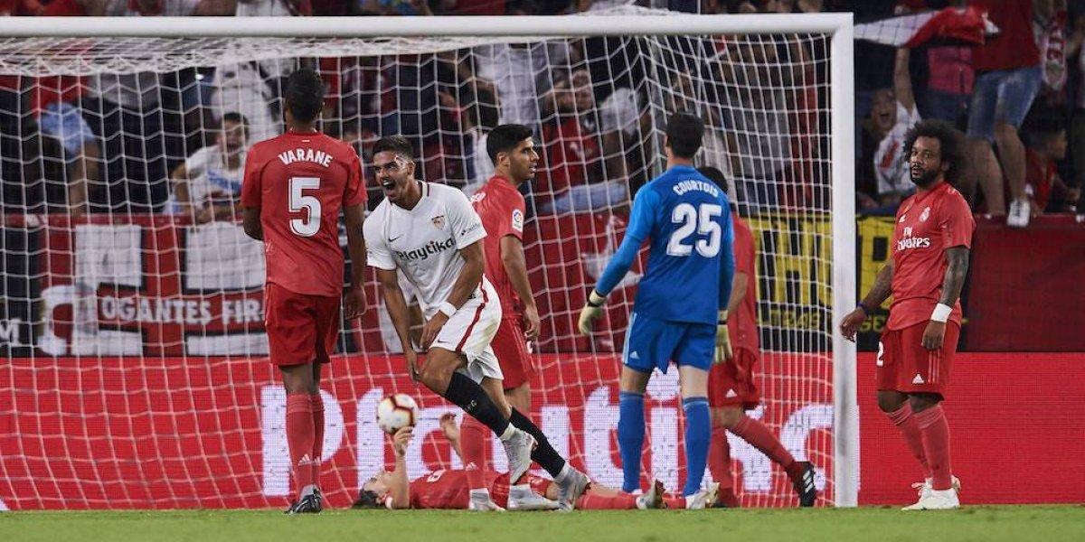 Real Madrid sufre primera derrota con goleada del Sevilla