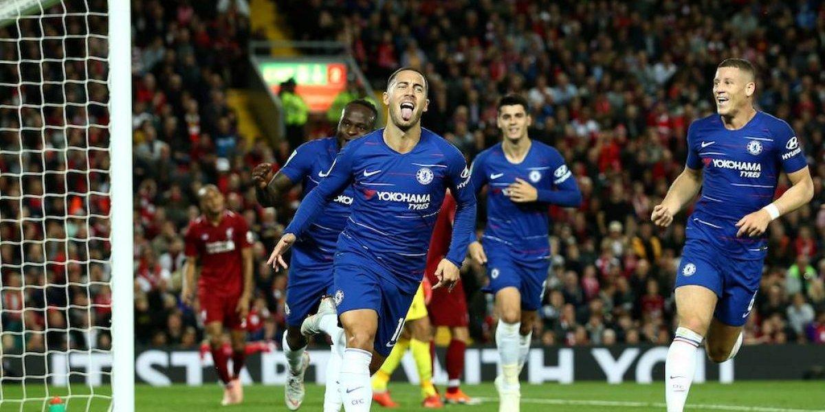 Chelsea remonta ante el Liverpool y lo elimina de la Copa de la Liga