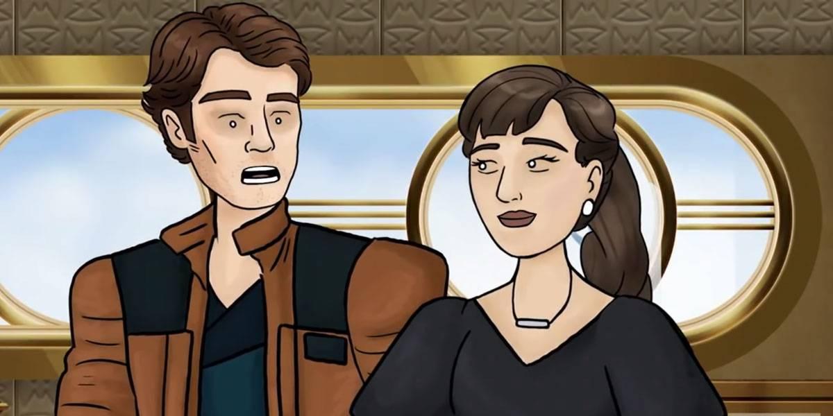HISHE en español destroza a Solo: A Star Wars Story en esta animación
