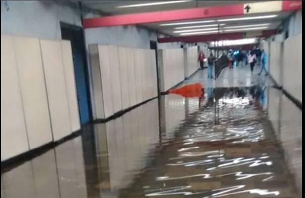 Estas estaciones se enfrentan a inundaciones durante las lluvias