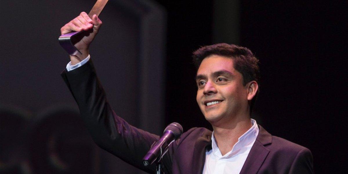 """Jayro Bustamante recibe premio para la producción de su nuevo filme """"La Llorona"""""""