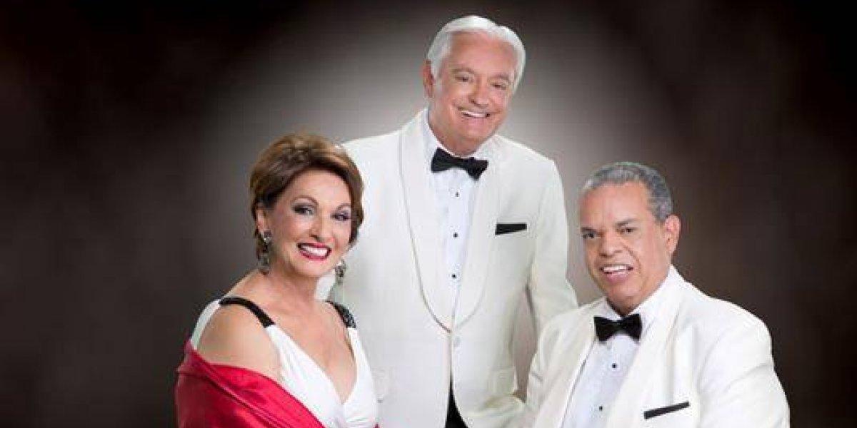 """""""Los Tremendo Tres"""" en una presentación benéfica el 19 de octubre en el Santo Domingo Country Club"""