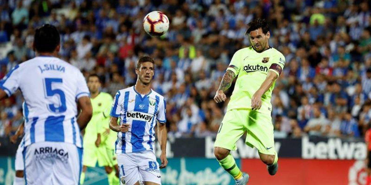 Messi alcanza una nueva marca en su carrera con el Barcelona  43d555c7bb7
