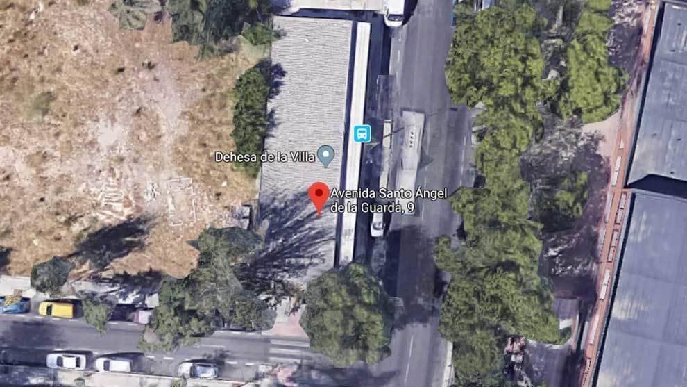 Lugar del accidente mortal de Parkour en Madrid