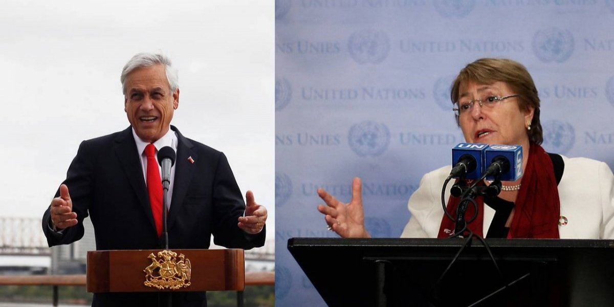 """Secreto en la ONU: Piñera y Bachelet hablaron pero todo quedó """"en privado"""""""