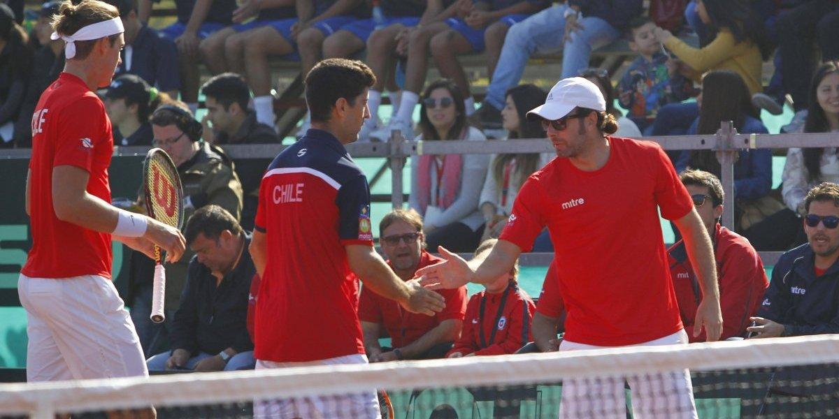 Austria será el rival de Chile en el repechaje del Grupo Mundial de la Copa Davis