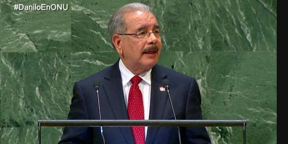 """Danilo Medina promete aportar una """"voz caribeña"""" al Consejo de Seguridad ONU"""