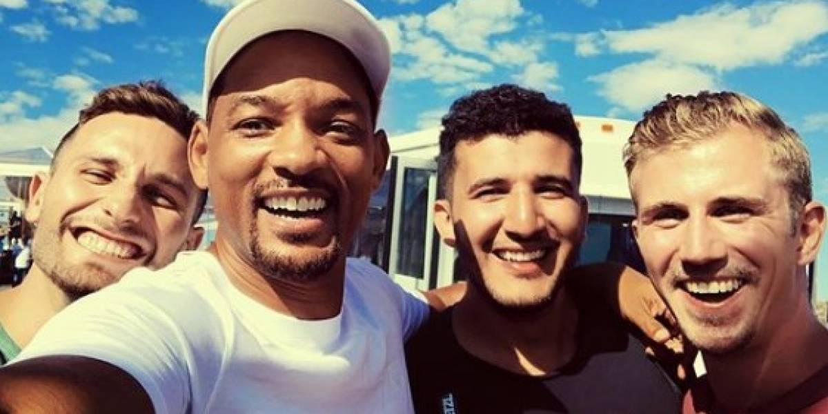 Will Smith celebra sus 50 años de una manera extrema