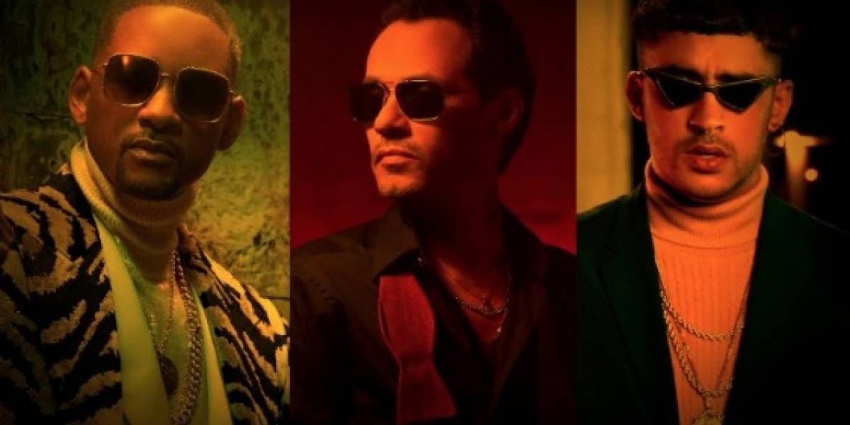 "Se juntan Marc Anthony, Will Smith y Bad Bunny en ""Está Rico"""