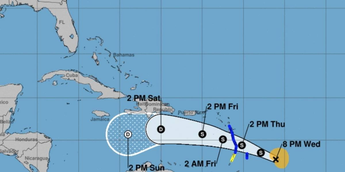 Tormenta tropical Kirk se fortalece en el Caribe