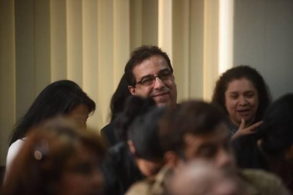 Julio Suárez, expresidente del Banguat y exintegrante de la junta directiva del IGSS.