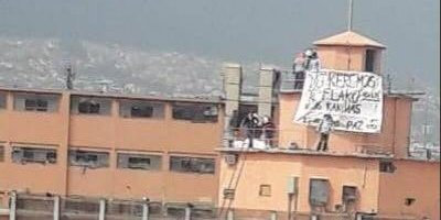 Reos de Topo Chico protestan por cobro de cuotas