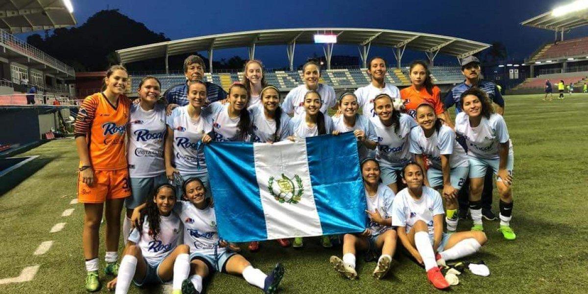 Guatemaltecas se lucen con goleadas en el Torneo Interclubes de Uncaf