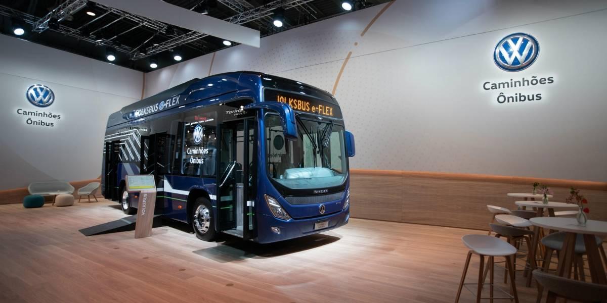 Con soluciones eléctricas, Volkswagen luce en la principal feria de transporte