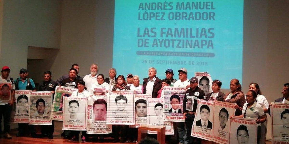 Comisión para caso Ayotzinapa va por decreto o vía jurídica: AMLO