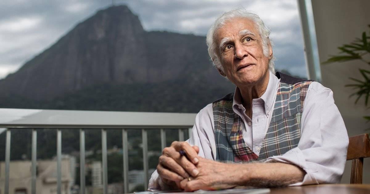 Ziraldo durante entrevista ao Jornal Folha de S.Paulo Foto: Ricardo Borges