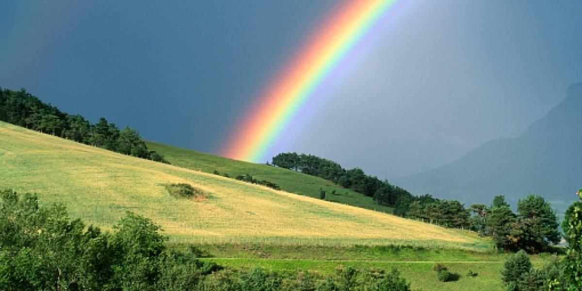 ¿Habrá encontrado su olla con monedas de oro?: llegó al final del arcoíris y realizó impresionante descubrimiento