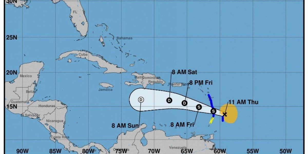 """RD mantiene """"estricto seguimiento"""" a evolución de la tormenta Kirk"""
