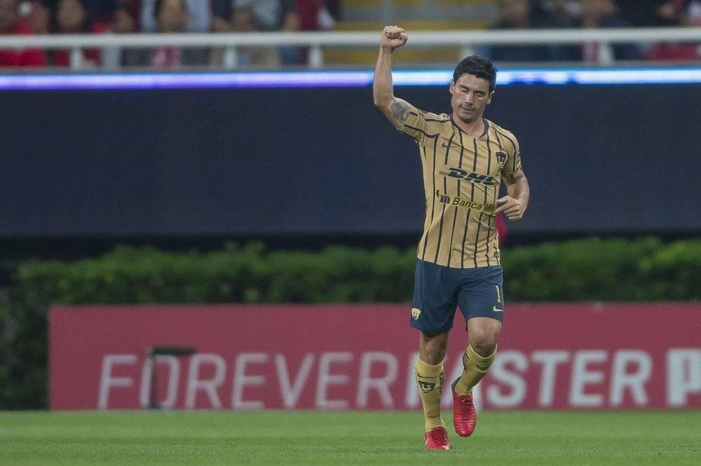 Matías Alustiza se encargó de abrir el marcador. / Mexsport