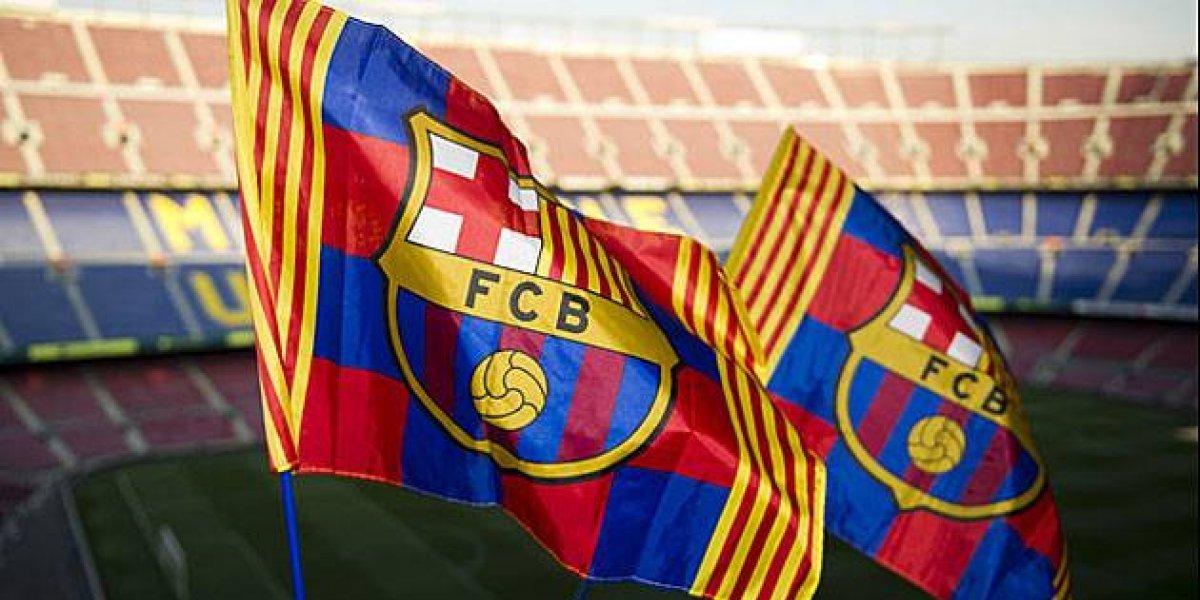 VIDEO. El Barcelona cambia su escudo y así será el nuevo