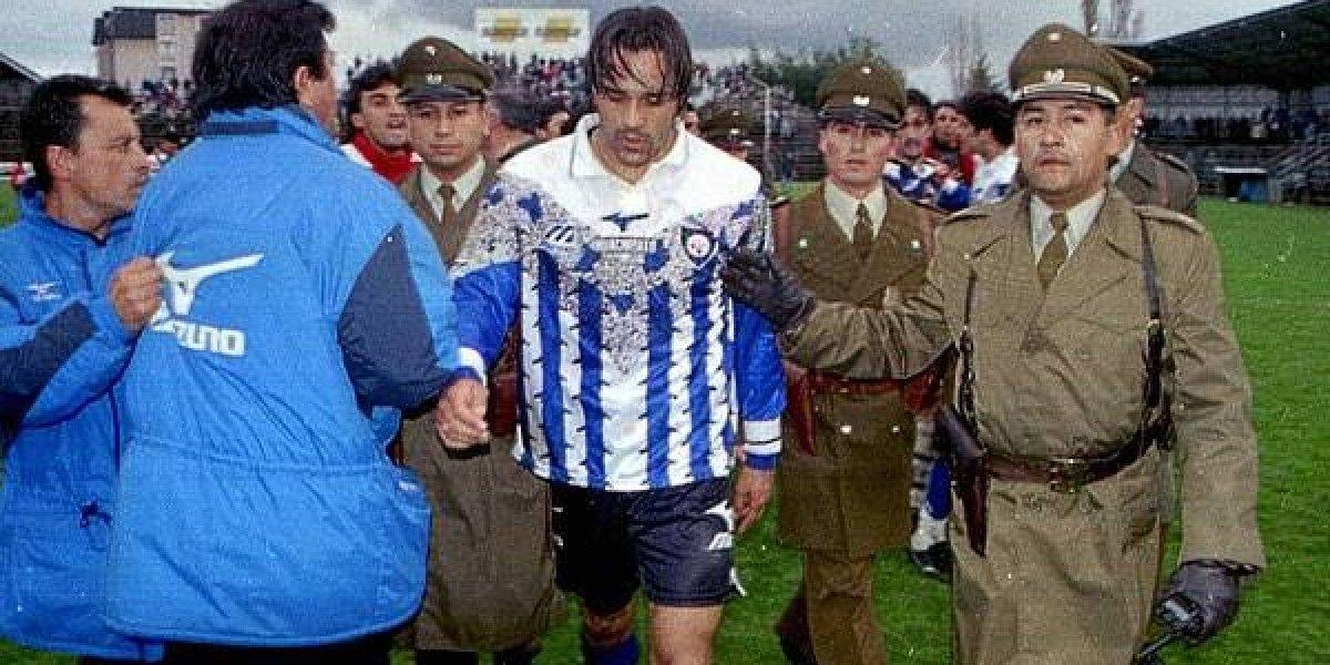 A 20 años del día que Candonga Carreño se peleó con medio equipo de Osorno