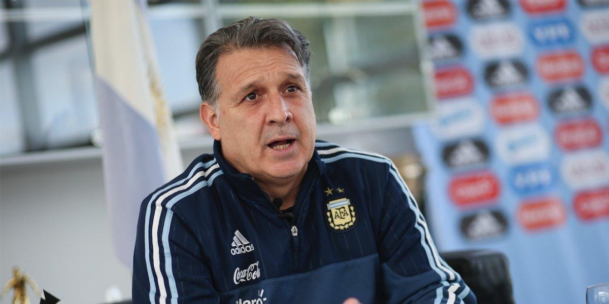 """Estoy acostumbrado a dirigir selecciones"", Gerardo 'Tata' Martino"